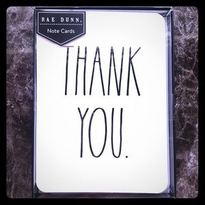 RD Thank you cards.